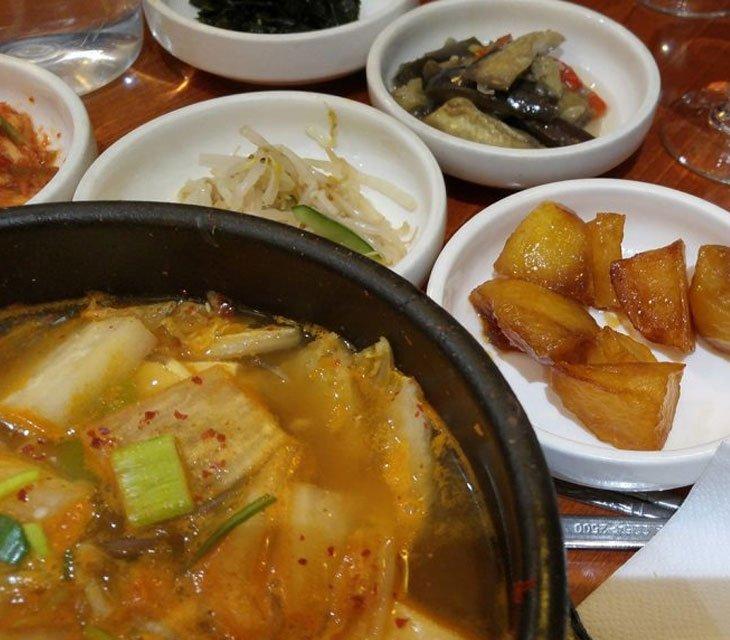ahssi restaurant coréen