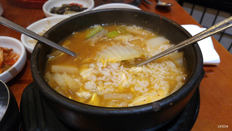 riz et ragoût