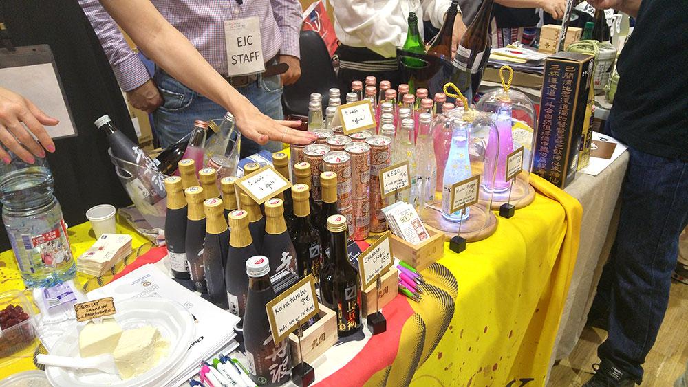 Bouteilles de sake