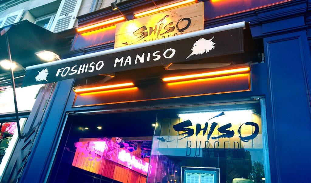 Shiso burger restaurant