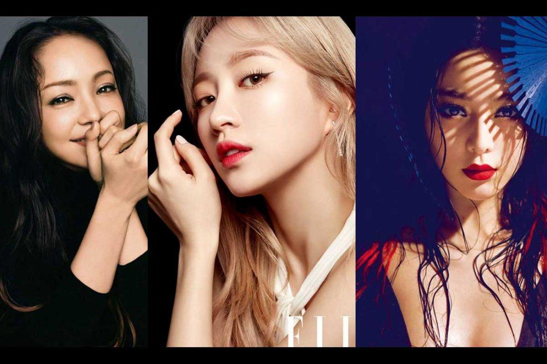 maquillage des pays asiatiques