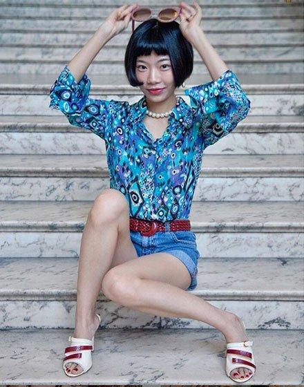 instagrameuse asiatique