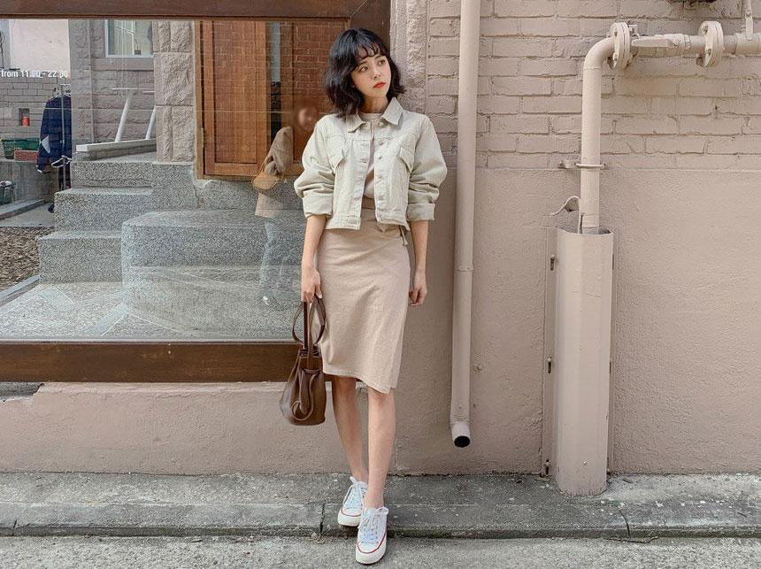 vêtements coréens maison