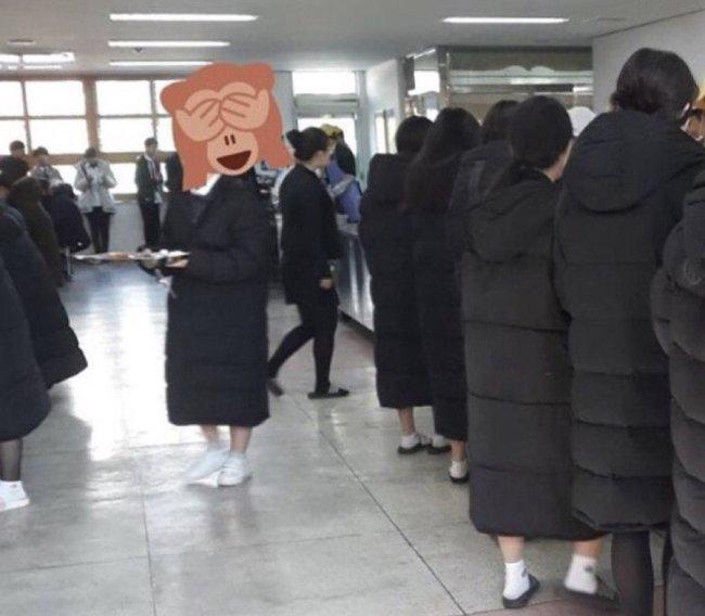 élèves coréens