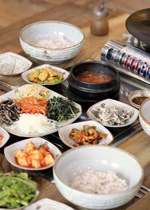 plats coréens